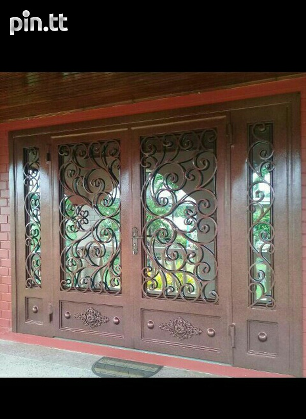 Wrought iron and custom design-1