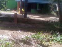 Beachfront land in Mayaro with house