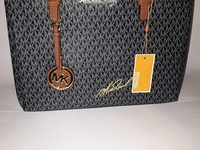 Black and Brown MK Handbag