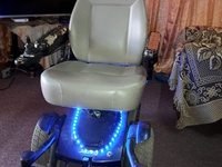 jazzy electronic wheelchair