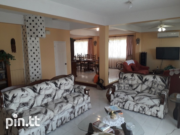 Lovely 4-bedroom fully furnished house Arima-2