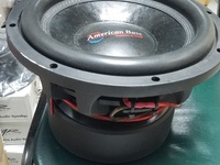 American bass HD 12d2 2000rms