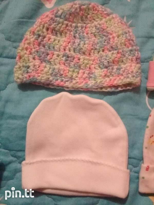 BABY HATS AND DINSEY MINNIE SUIT PANTS AND TOP-3