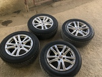 15 Inch Close Hole Rims With Tyres