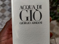 Father's Day Original Aqua Di Gio Giorgio Armani New Sealed