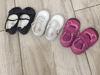 Baby 3 pairs shoes lot