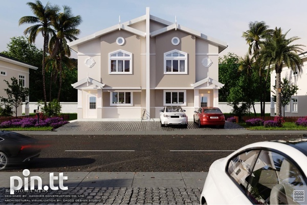 Piarco Duplexes with 3 Bedrooms-4
