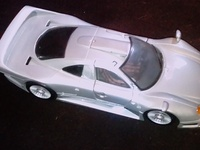 Scale Model Mercedes CLK GTR