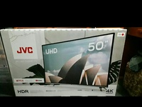 New JVC television