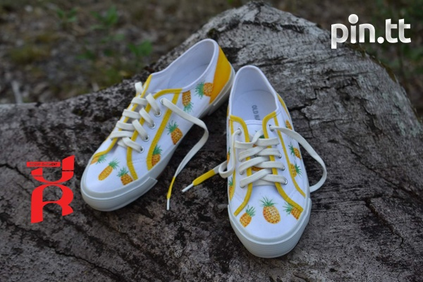 Pineapple Shoes Hand Crafted-4