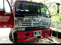 Nissan Flatbed Truck