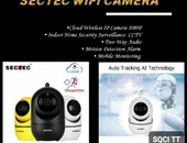 Mini Cloud Storage Wifi PTZ Camera