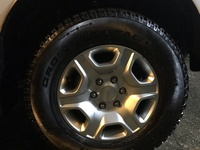 Ford 2018 Rims and Tyres