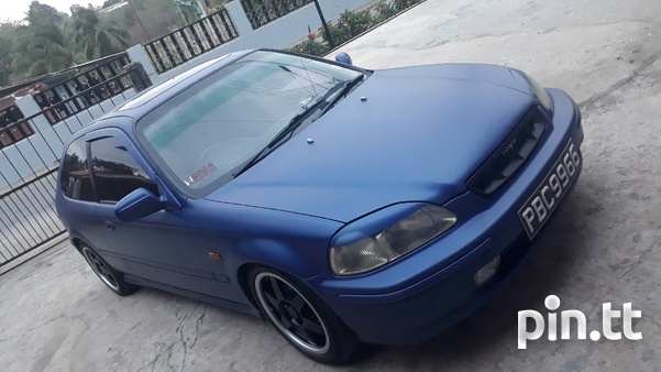 Honda Civic, 1998, PBC-2