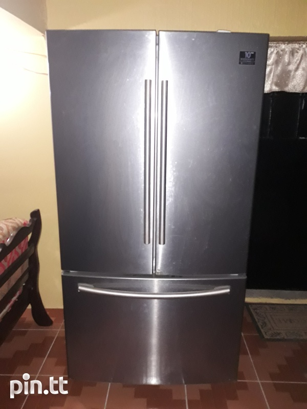 Samsung Chrome French Door Refrigerator-1