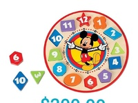 Mikey mouse clock