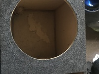 Two 12 inch Subwoofer boxes
