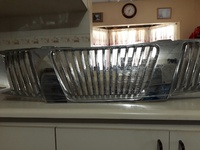 Navara chrome grill