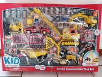 Jumbo Construction Play Set