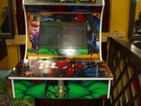 Video Arcade Machine With Pandora's Box 1299 games