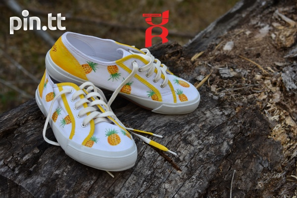 Pineapple Shoes Hand Crafted-6