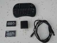 Mini Wireless Keyboard 2.4 GHz with Touchpad Mouse
