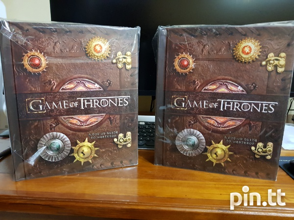 Game of Thrones A Pop Up Guide to Westeros-1