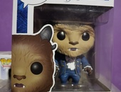 The Beast character from the Beauty and the Beast Funko pop furgrine