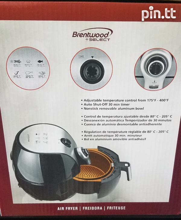 Brentwood 1500w Air fryer - new-2
