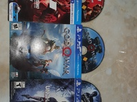 PS4 games God of War, Uncharted 4, Gran Turismo
