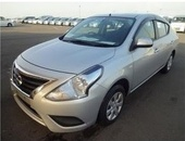 Nissan Versa, 2015, Roll On Roll Off