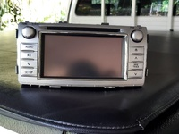 Original Hilux Double Din deck