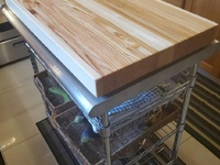 Handmade cutting boards and counter tops.