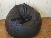 Black Leather Beanbag Chairs