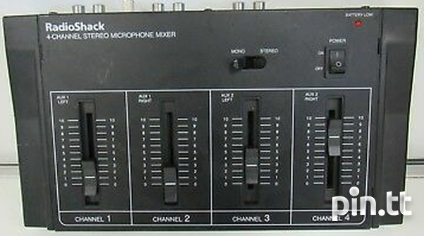 4 Channel Mixer-1