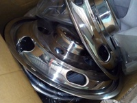 16 inch truck chrome cover
