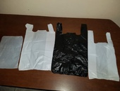 PLASTIC BAGS AND DRESSED FORKS