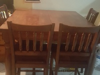 7PC Dining set Expanable imported from the USA