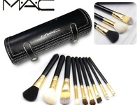 Designer MAC 9 Piece Makeup Brush Set.