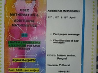 Mathematics and Additional Mathematics Crash Course