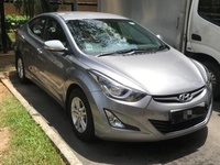 Hyundai Elantra, 2015, Roll On Roll Off