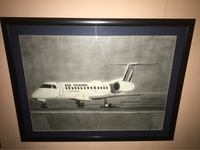 ART AIRPLANE DRAWING