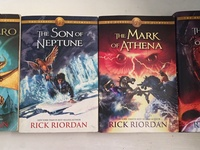 Action and Adventure Y/A novels by Rick Riodian