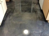 Epoxy counters and flooring