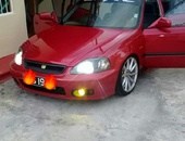 Honda Civic, 2000, PBS