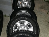Ford Ranger rims and tires