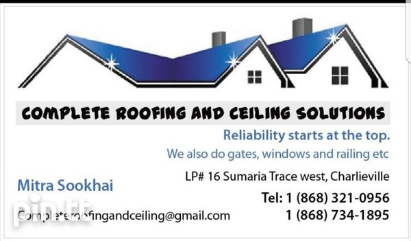 Complete Roofing and Ceiling Solutions