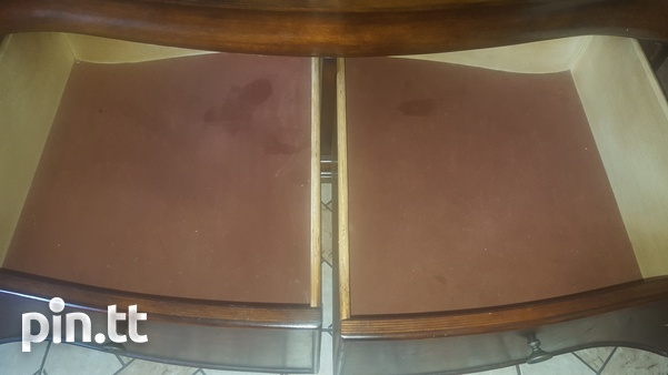 Used Mahogany Cocktail/ Center Table-2