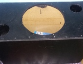 15 inch bass box built with 5/8 mdf