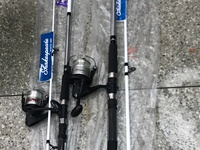 FISHING ROD POLE WITH REEL
